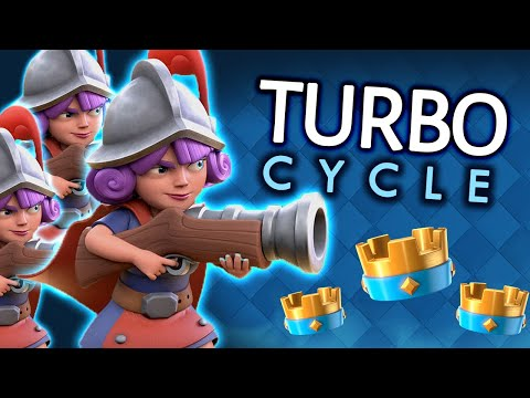 TRY THIS DECK!! Super FAST Three MUSKETEER CYCLE! ft ESLEY #5 In the WORLD!