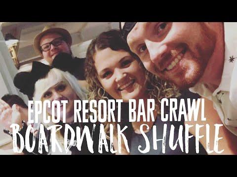 Epcot Resorts Bar Crawl with The WDW Couple aka BOARDWALK SHUFFLE