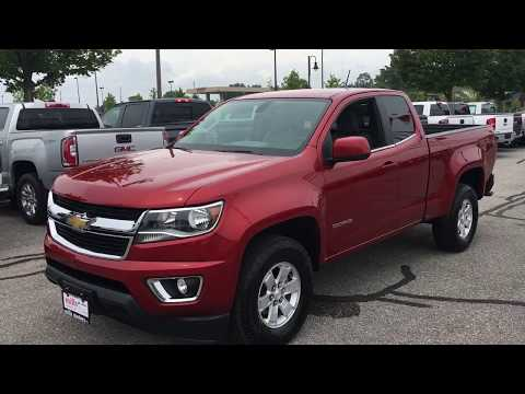 Pre-Owned 2016 Chevrolet Colorado 2WD WT Short Box Ext Cab 6-Speed Oshawa ON Stock#171159A
