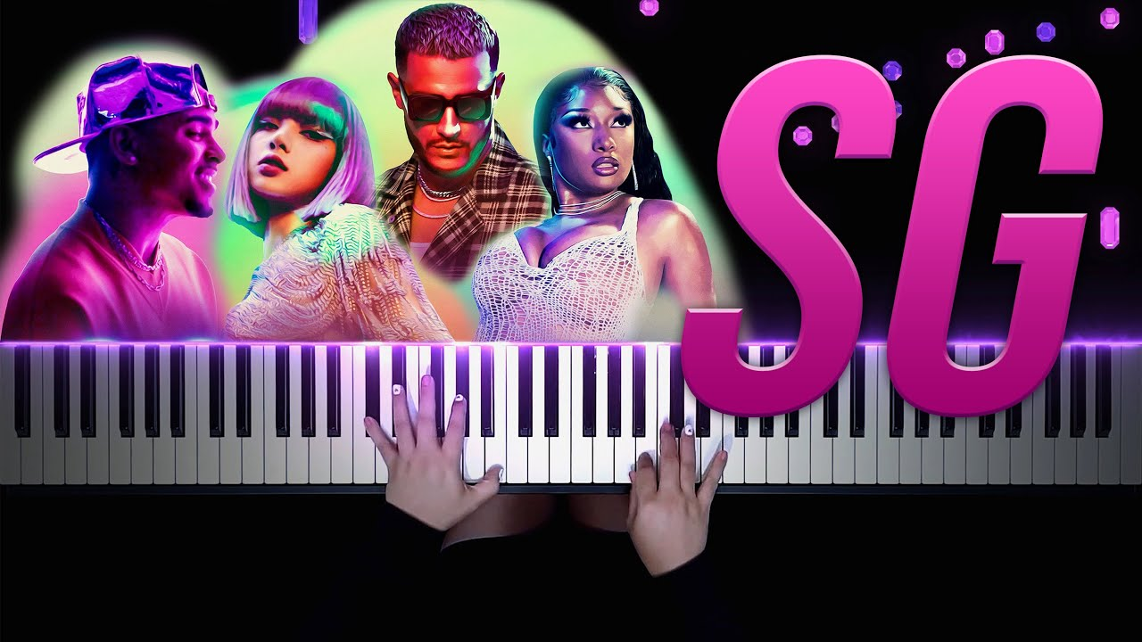 DJ Snake, Ozuna, Megan Thee Stallion, LISA of BLACKPINK - SG | Piano Cover by Pianella Piano