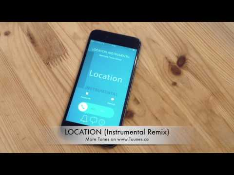 Location Ringtone (Khalid Tribute Instrumental Remix Ringtone) • For iPhone & Android