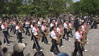 京都橘S.H.S. BAND ブラスエキスポ 2017 パレード - Kyoto Tachibana SHS Band -