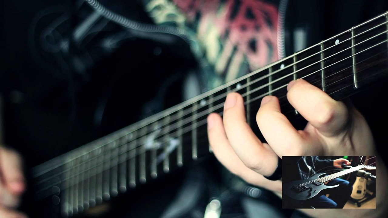 keith merrow evertune 7 string bridge demo vgs guitar youtube