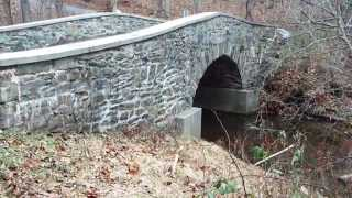 Isreal Creek Single Arch Stone Bridge - 1875