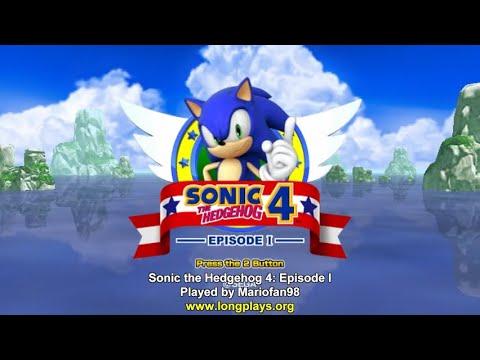 Sonic The Hedgehog 4: Episode I (Wii) - 100% Longplay (No Damage)