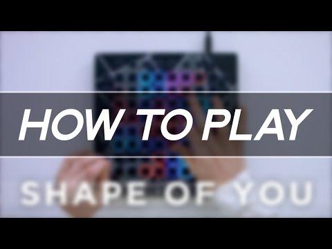 Ed Sheeran - Shape Of You Ellis Remix  Launchpad Tutorial