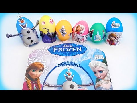 How To Decorate Easter Eggs With The Disney Frozen Dye Sticker Kit