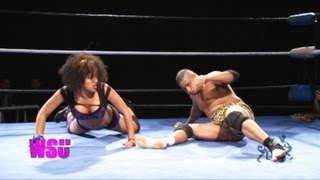 Download Beyond Wrestling [Free Match] Jaka vs. Marti Belle (No Commentary) - WSU Intergender Mixed Ladies Mp3 and Videos