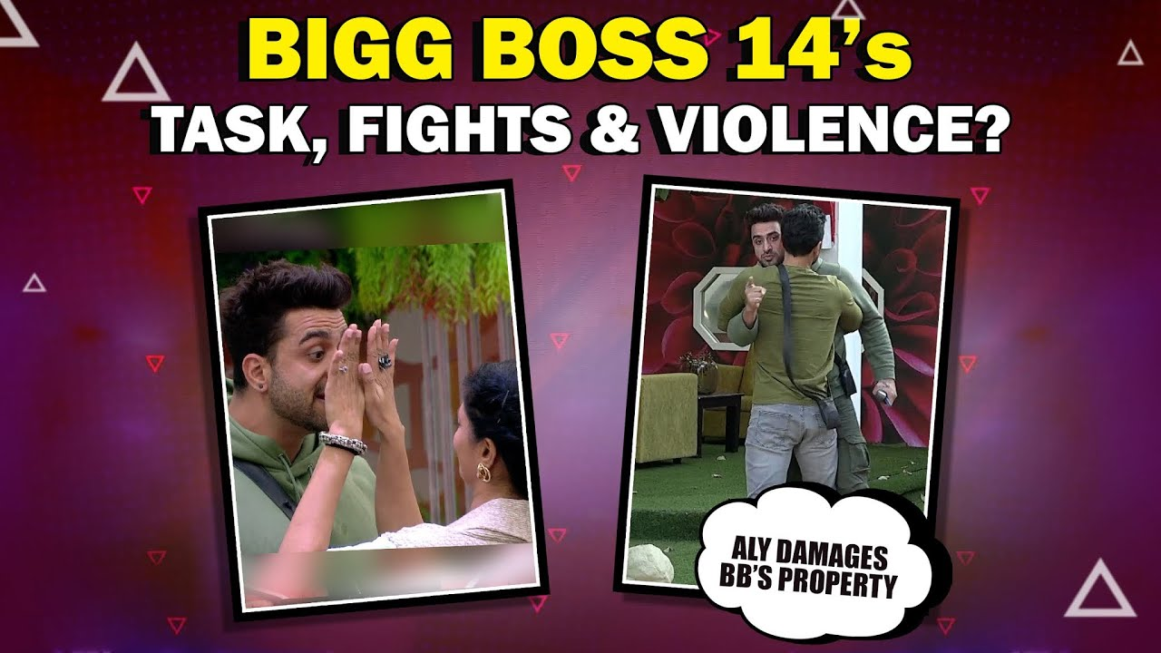 Bigg Boss 14's Tasks, Fights, Aly Damages Bigg Boss's Property | Fight With Kavita