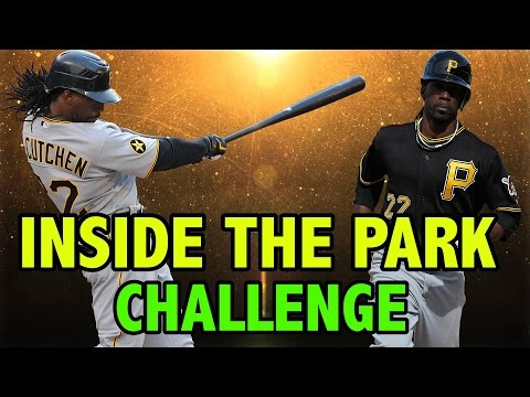 ANDREW MCCUTCHEN INSIDE THE PARK HOME RUN | MLB The Show 16 Polo Grounds Challenge
