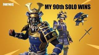 "Fortnite Battle Royale ""NEW SKIN"" Musha 'My 90th Solo Win'"