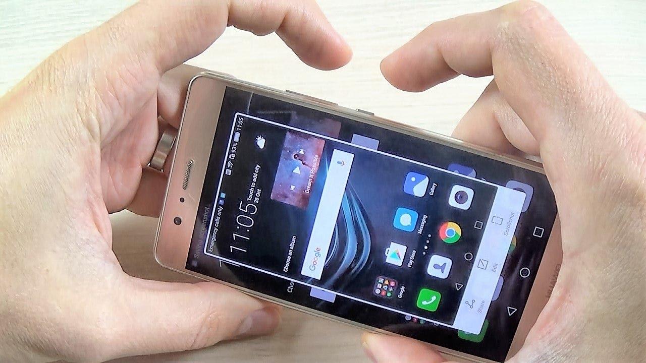 2641eed0ef44c HUAWEI P9 Lite - How to Take Screenshot  Print screen  Capture ...