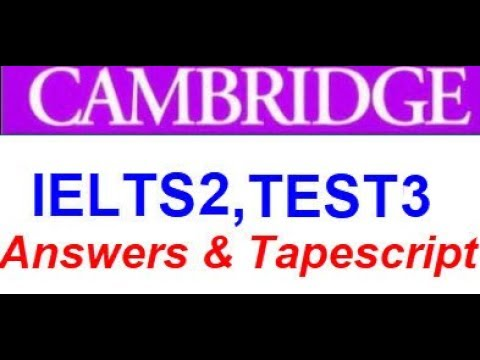 Cambridge Listening Book 2 Test 3 | easy-ielts com