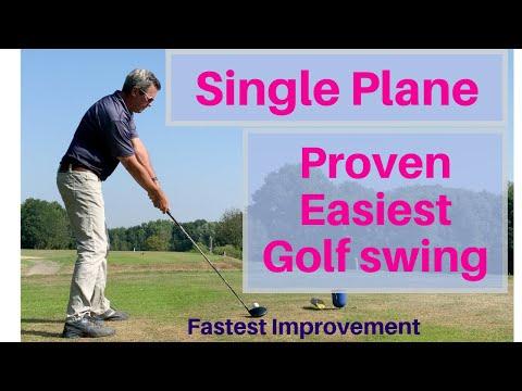 The Easiest Golf Swing to Learn - Single Plane swing - Setup