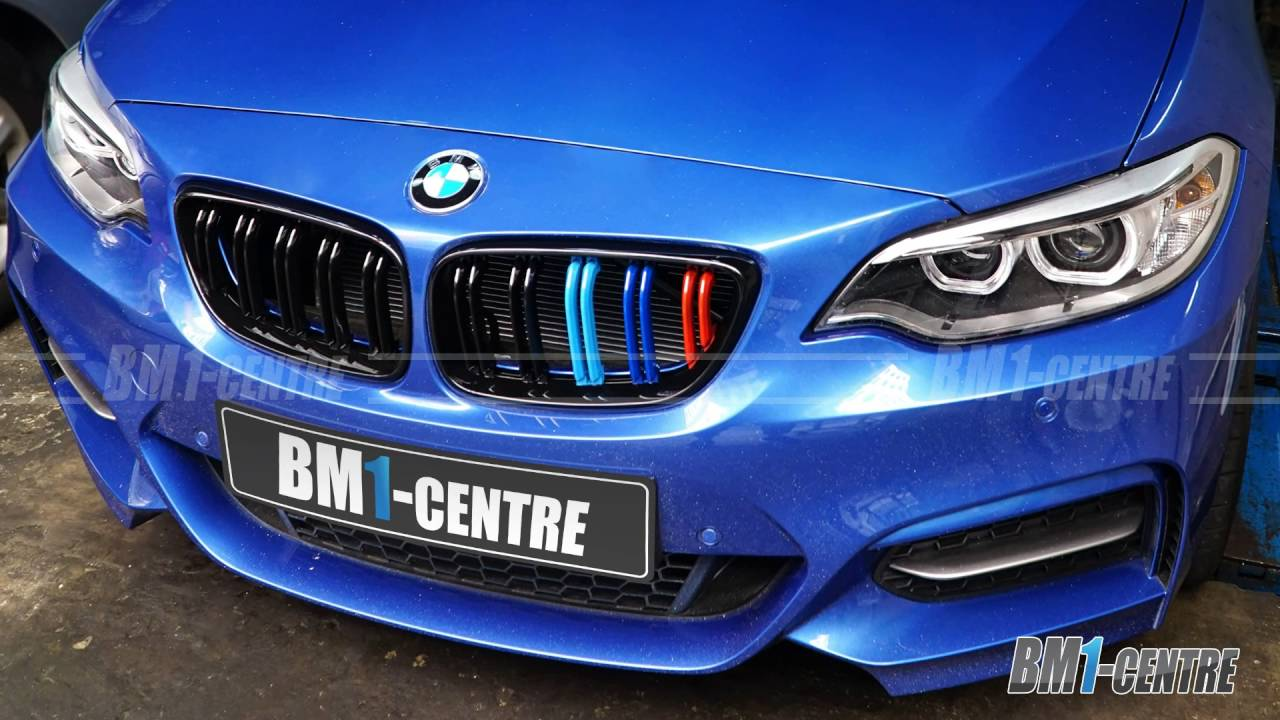 Bmw Front Grille Installation Youtube
