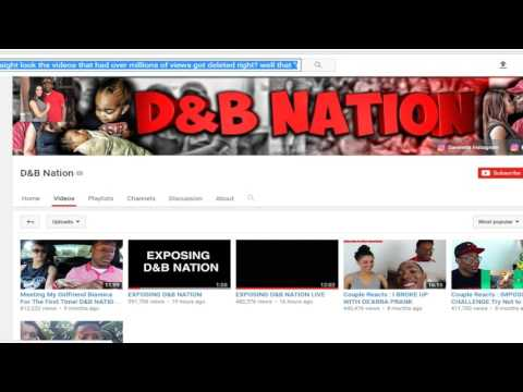 Me EXPOSING that the D&B Nation HACKING sh*t is fake as HELL !