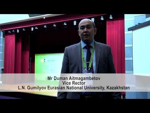 Interview with Mr Duman Aitmagambetov - L.N Gumilyov Eurasian National University