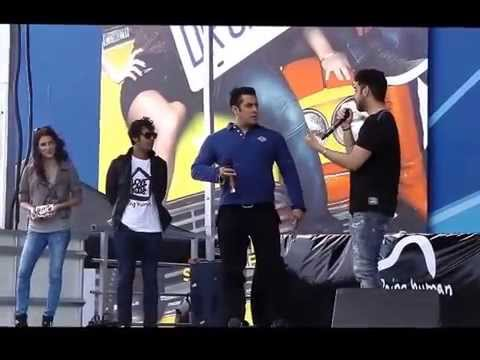 Glimpses of Salman Khan at Dr Cabbie Music Launch Party, Silvercity, ,Brampton (Toronto)