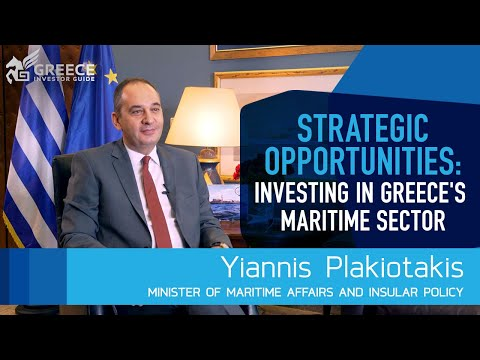 Yiannis Plakiotakis, Minister of Maritime and Insular Policy - Greece Investor Guide (2)