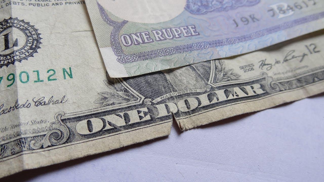 Us Dollar Vs Indian Ru Note You