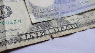 US Dollar VS Indian Rupee NOTE