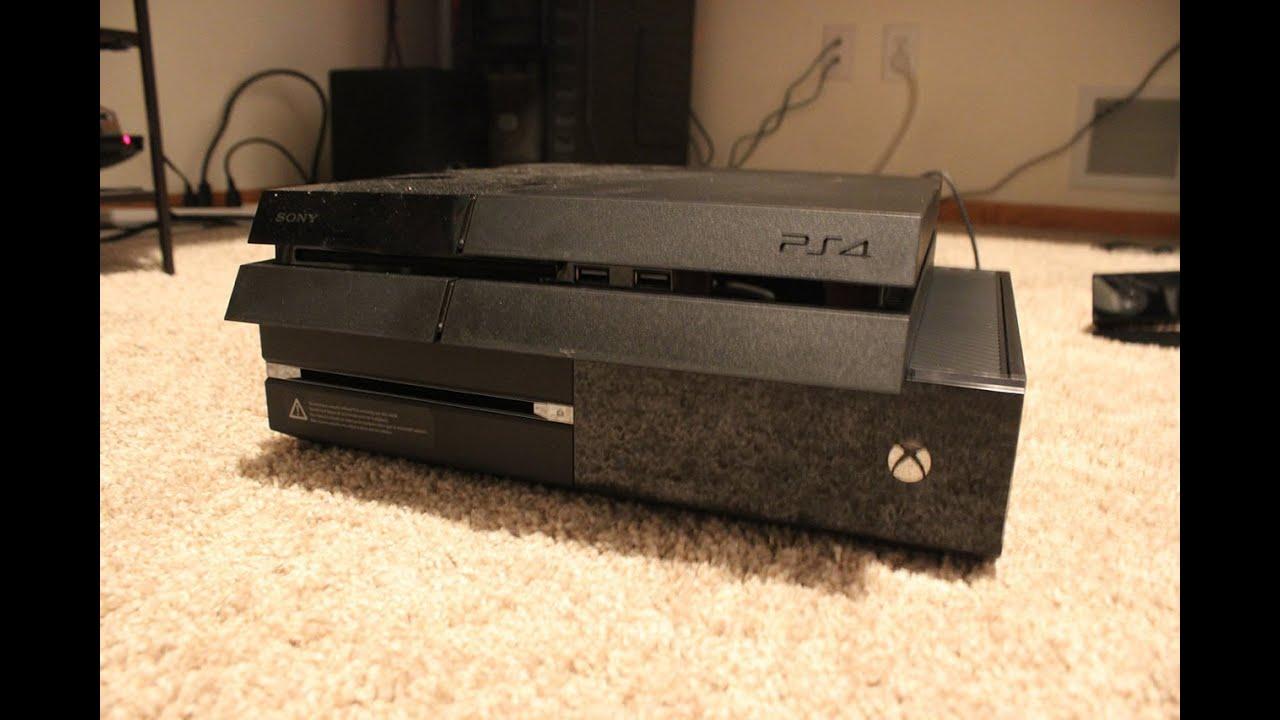 PS4 Slim vs Xbox One S- Battle Vid!!! - YouTube |Ps4 Vs Xbox One Size