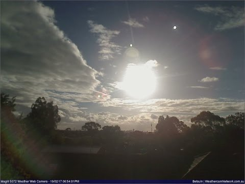 ''AUSTRALIAN SUNSETS'' Adelaide SA, Daily Weathercam from 19 Feb-24 Feb 2017