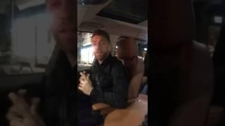 Papu Gomez che ritmo in automobile con la moglie Linda!