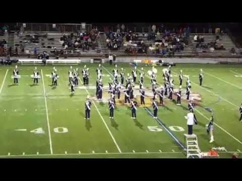 Abington Heights marching  band  11-11-16