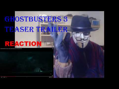 GHOSTBUSTERS 3 Teaser Trailer (2020) Reaction