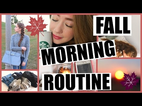 my-real-school-morning-routine-for-fall-|-fall-morning-routine-for-school-2016!