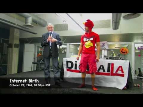 Internet History: Father of Internet & Angry Bird 10/29/12