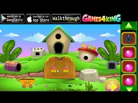 G4K Cute Cat Rescue walkthrough Games4King.