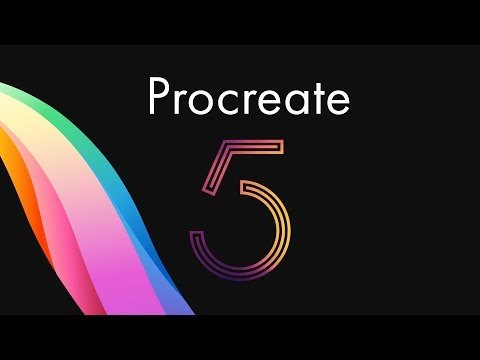 NEW Procreate 5 Update? - CMYK Support, Floating Menus, Brush Studio And More!