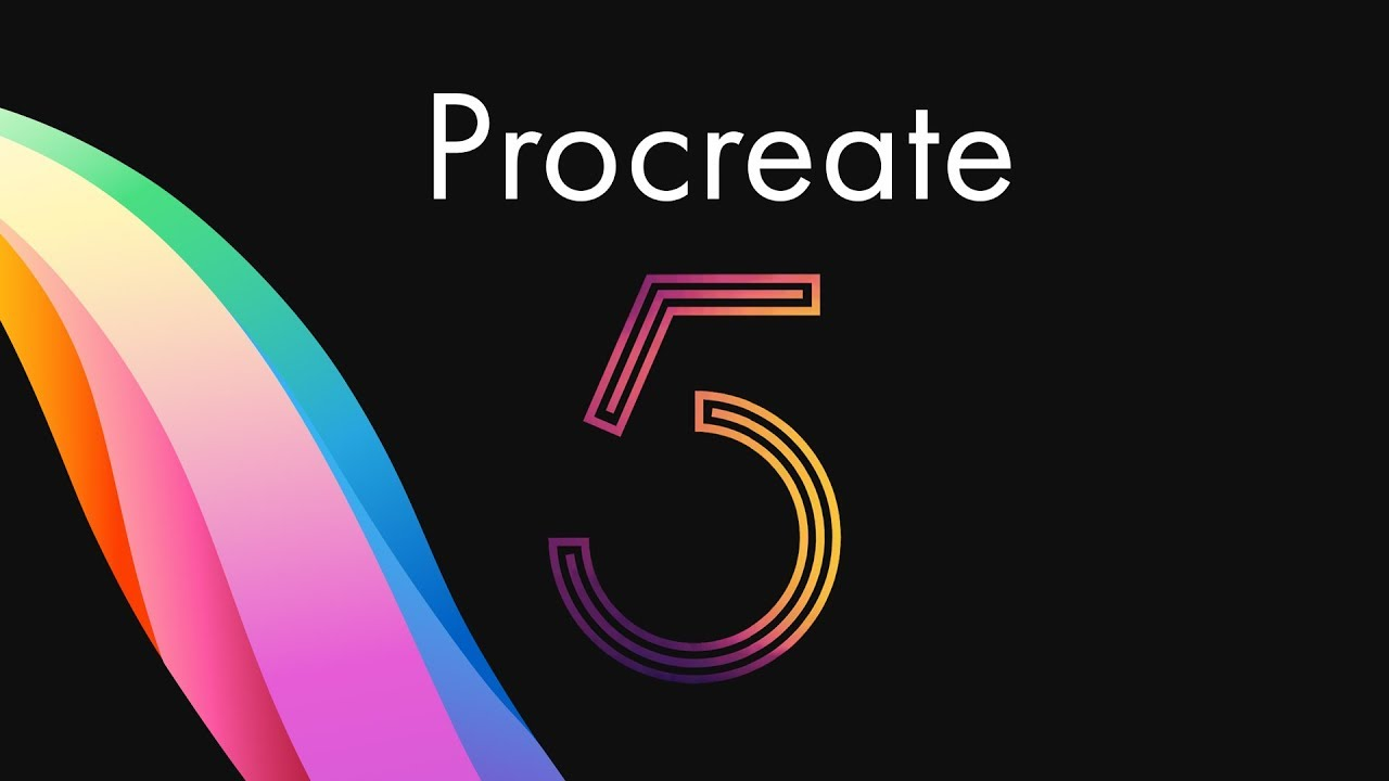 New Procreate 5 update? CMYK Support, Floating menus, Brush studio and more!