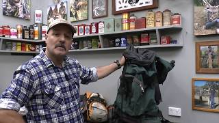 Backpack Hunting Gear What Worked and What Didn't. Part 1 - Backpacks and Camping Gear Review