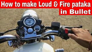 How to make Pataka Sound with your Royal Enfield Bullet