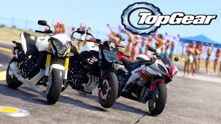 GTA V: TOP GEAR | XJ6 vs HORNET vs R6, DISPUTA DAS 600cc