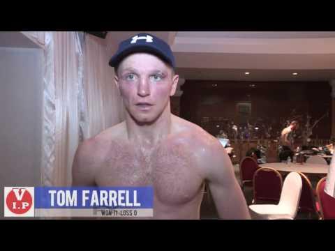Tom Farrell post fight interveiw