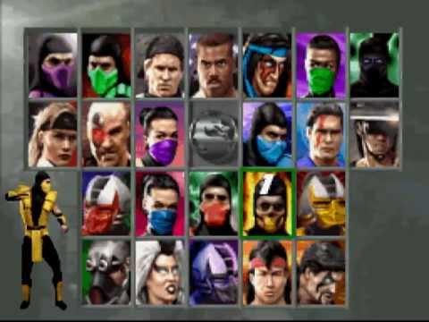 Ultimate Mortal Kombat 3 [SNES] - Unlokead Menu Secrets+Brutality Scorpion
