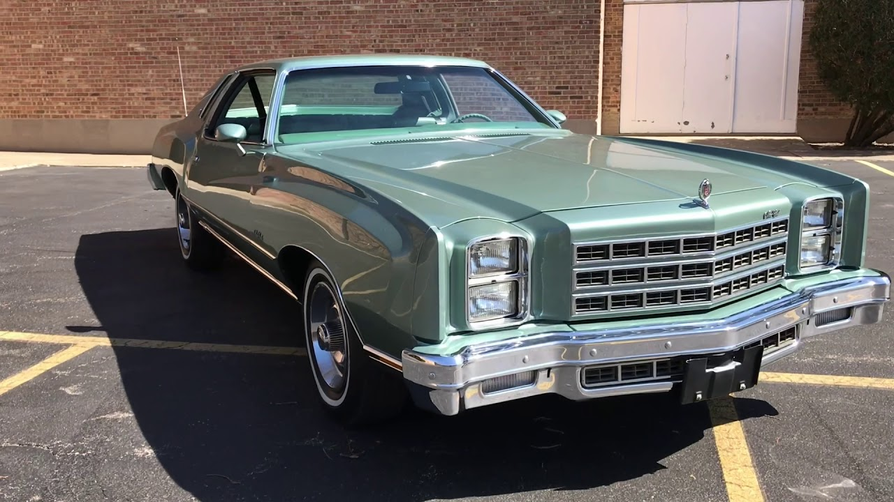 Sold 1977 Chevrolet Monte Carlo For Sale Youtube