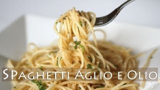 3-ingredient Spaghetti Aglio E Olio Recipe 마늘 스파게티 만들기 알리올리오 Vegetarian Garlic Pasta