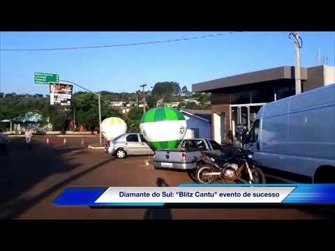 """Diamante do Sul: """"Blitz Cantu"""" evento de sucesso."""