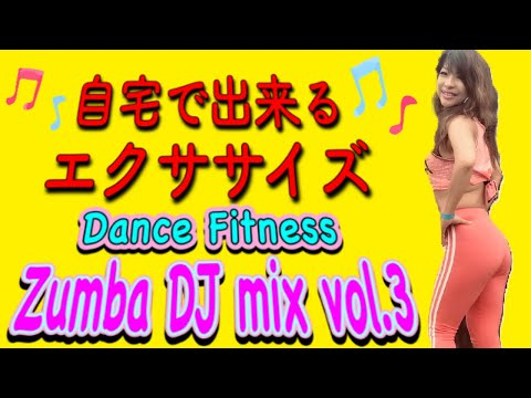 [30分脂肪燃焼] 自宅で出来るエクササイズ Dance Fitness Zumba DJ MIX Vol3