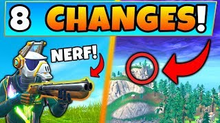 Fortnite Update: 8 SECRET CHANGES in SEASON 6! - ft. Double Barrel & Map Changes in Battle Royale!