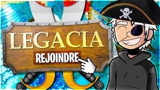 BIENVENUE DANS LE MONDE DES PIRATES ! ✅ LEGACIA !