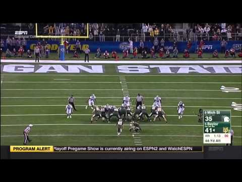 1/1/2015 - Michigan State 42 Baylor 41 Highlights