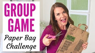 Fun Party Game For Groups   Paper Bag Challenge