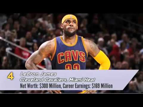 Top 10 Richest NBA Players In The World 2016 - Wealthiest Basketball Players 4266657b6
