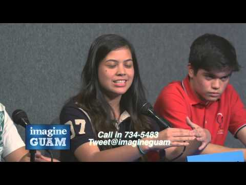 Imagine Guam student forum on Progress